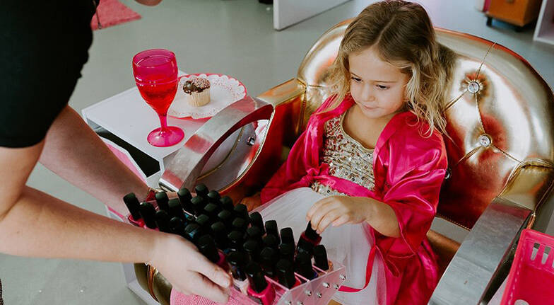 Kids' Glitter Makeover with Manicure and Pedicure - Coomera