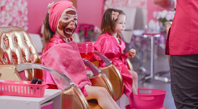 Kids' Makeover with Facial, Mani and Pedi - Burleigh Heads