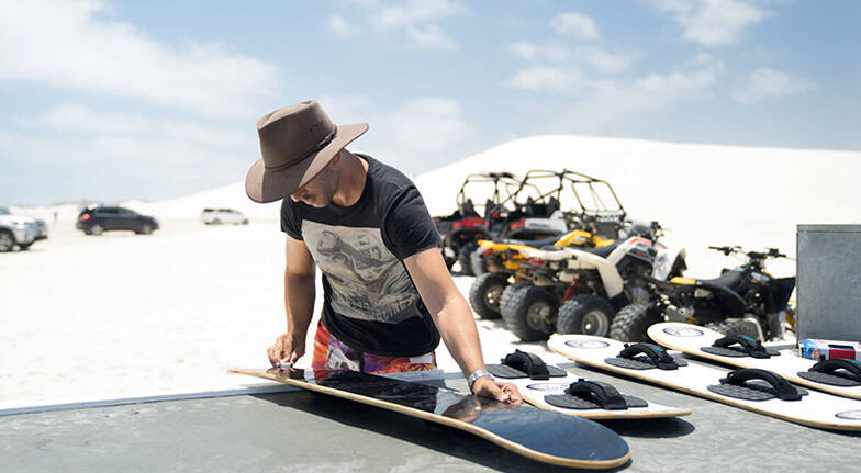 Buggy Ride and Sand Boarding Tour