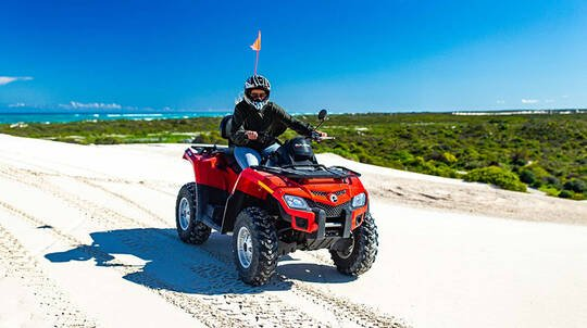Quad Biking and Sand Boarding Tour