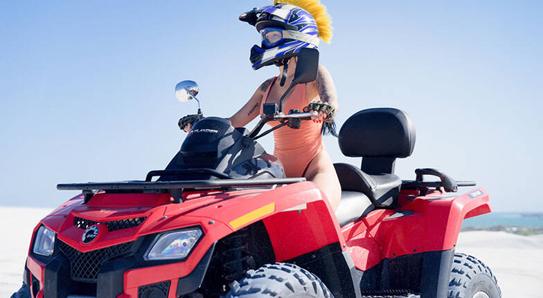 Quad Biking and Sand Boarding Tour - For 2