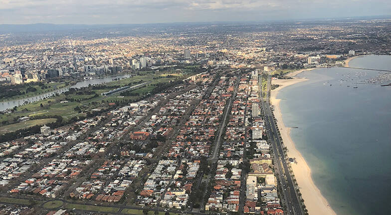 Melbourne City and Coastal Private Heli Flight - For 2