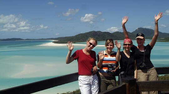 Classic Yacht Sail to Whitehaven Beach with Lunch