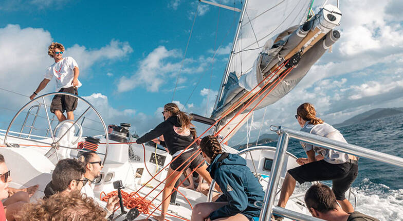 4 Day Whitsunday Sailing Adventure with Meals and More