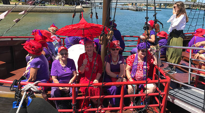 Mandurah Scenic Pirate Ship Cruise with Lunch - 90 Minutes