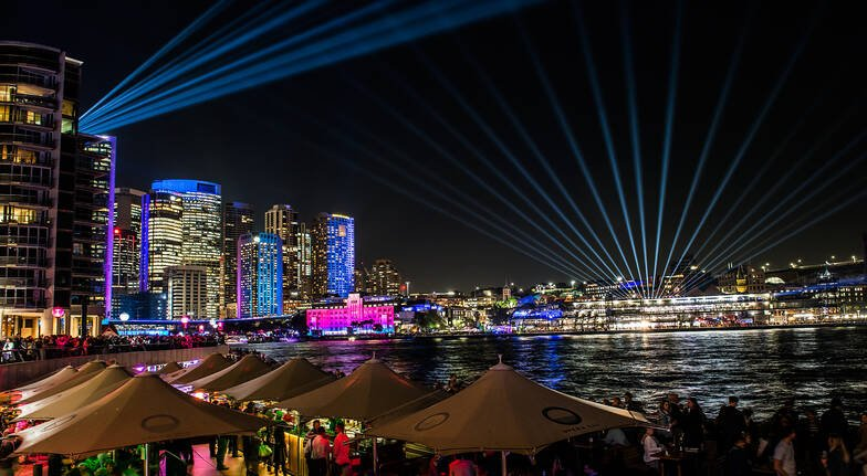 Night Photography Course at Vivid Sydney Festival - 3 Hours