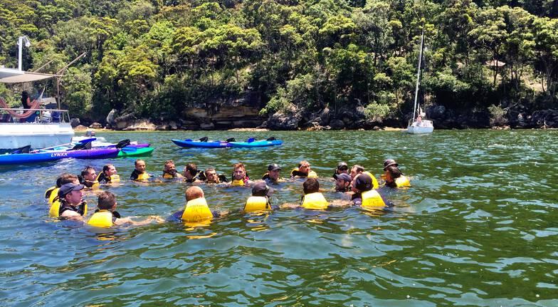 Team Bonding Kayaking and Personal Training Session