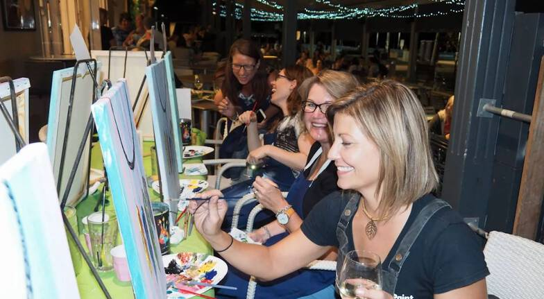 Paint, Sip and Create Class - QLD