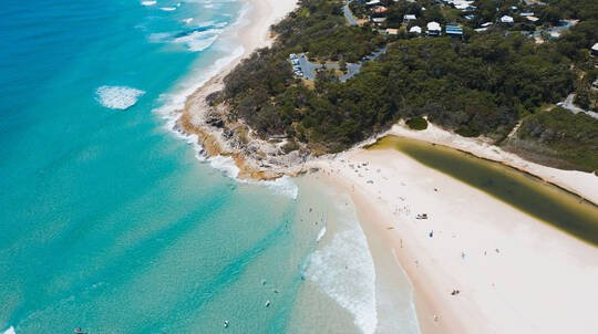North Stradbroke Island Tour with Lunch - Full Day