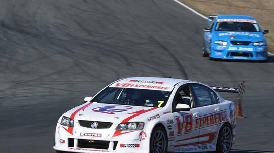 V8 Race Car Drive and Hot Laps Combo - 12 Laps - Brisbane
