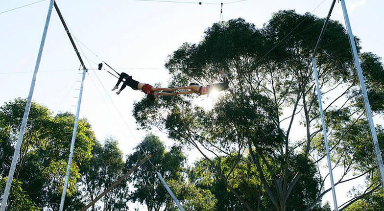 Flying Trapeze Circus Workshop  Sydney