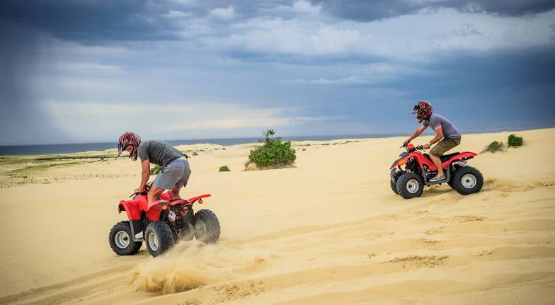 The Sandpit Quad Bike Experience - Adult