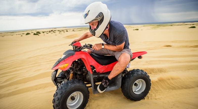 The Sandpit Quad Bike Experience - Family