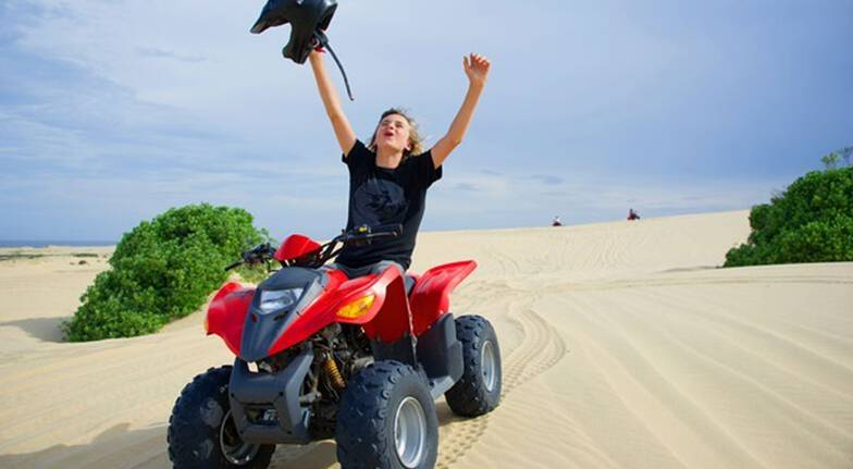 The Sandpit Quad Bike Experience - Child