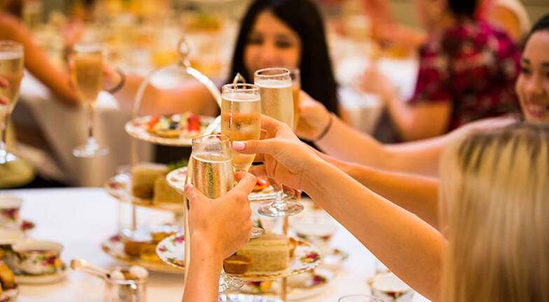 High Tea with Champagne at The Tea Room  For 2
