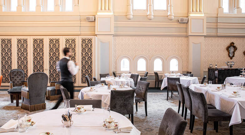 High Tea with Champagne at The Tea Room - For 2