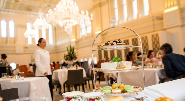 Elegant High Tea with Champagne - For 2