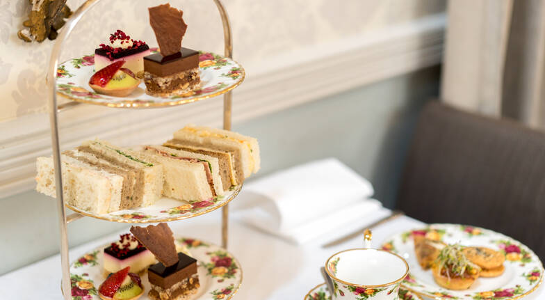Elegant High Tea with Sparkling Wine - For 2