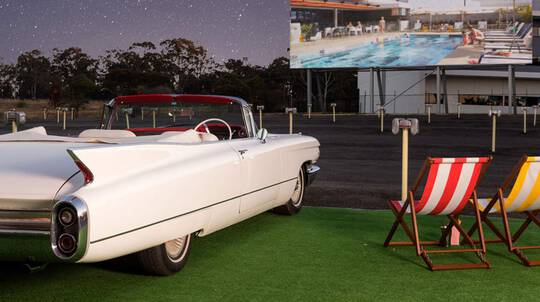 Retro Drive-In Movie, Overnight Stay and Breakfast - For 2