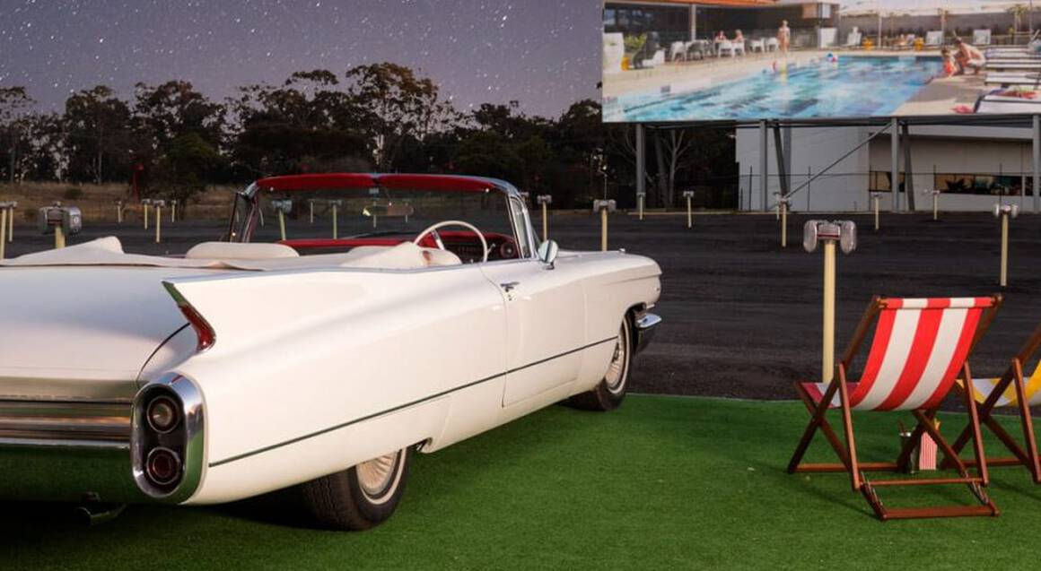 Retro Drive-In Movie Overnight Stay and Breakfast