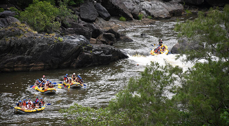 White Water Rafting on the Barron River - 2 Hours