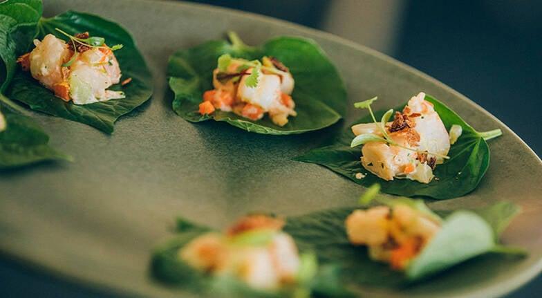 Luke Nguyen Degustation Dinner with Wine at Botanic House