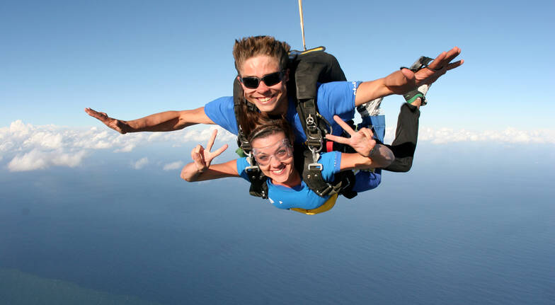 Skydive over the Beach - 15,000ft  - Brisbane - Weekend