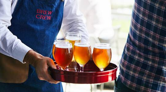 Boutique Beer Tasting Class with 5 Course Degustation