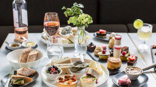 Indulgent Brunch Feast with Cocktail, Wine or Beer - For 2