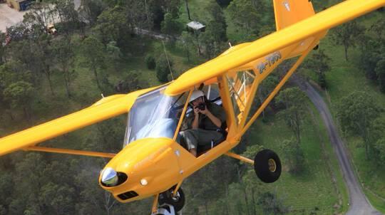 Mary Valley Adventure Flight - 20 Minutes