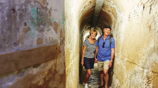 Rottnest Island Historic Train And Tunnel Tour with Lunch