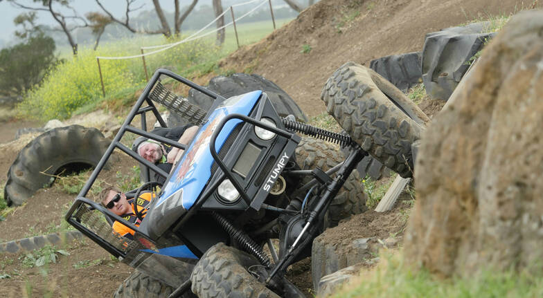 4WD Adventure Drive and Passenger Lap  1 Course  Weekday