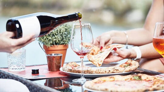 Rochford Wines Wine Tasting and Pizza Lunch - For 2