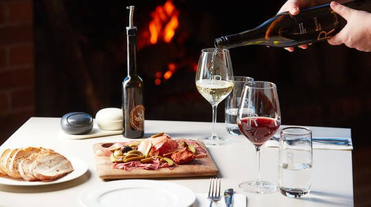 Wine Tasting Flight with Cheese and Charcuterie - For 2
