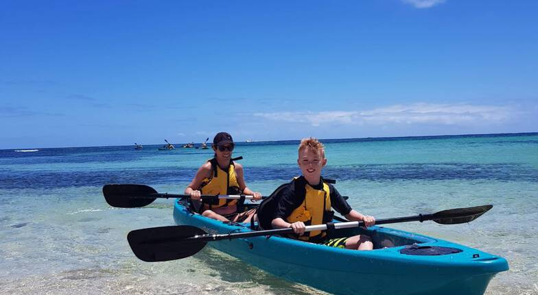 Rottnest Island Glass Bottom Kayak Tour