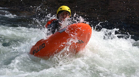 Full Day White Water River Boarding Tour