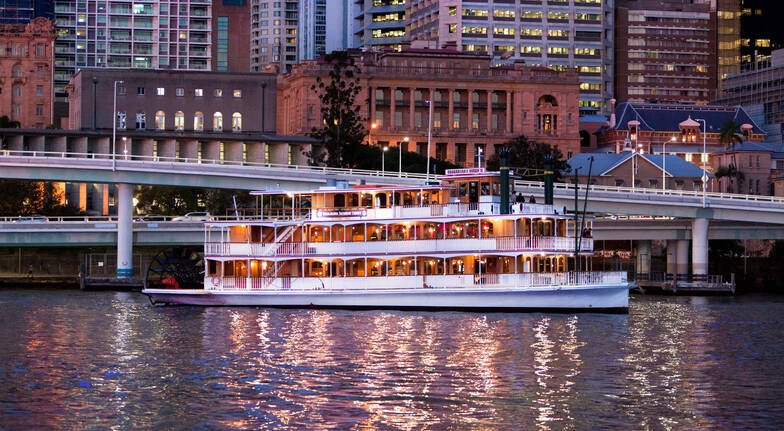 Brisbane River Dinner Cruise with VIP Romance Package
