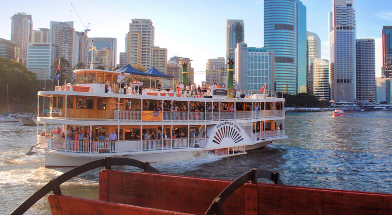 Sightseeing Cruise on the Brisbane River - Weekend - For 2