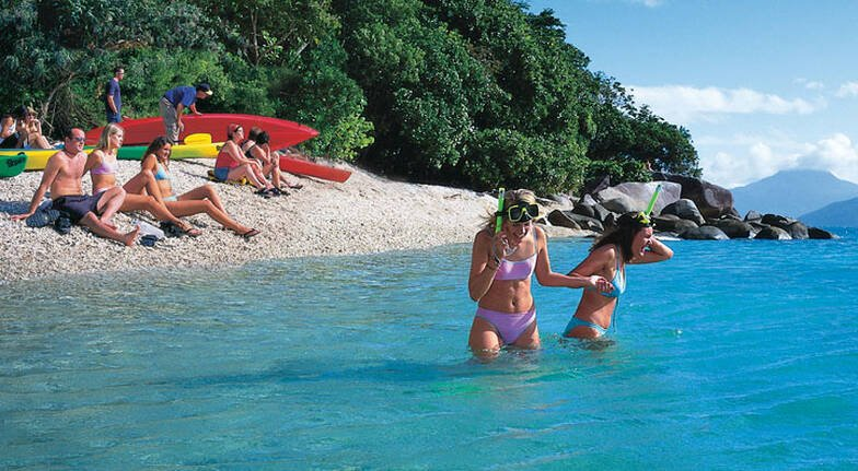White Water Rafting and Full Day Fitzroy Island Adventure