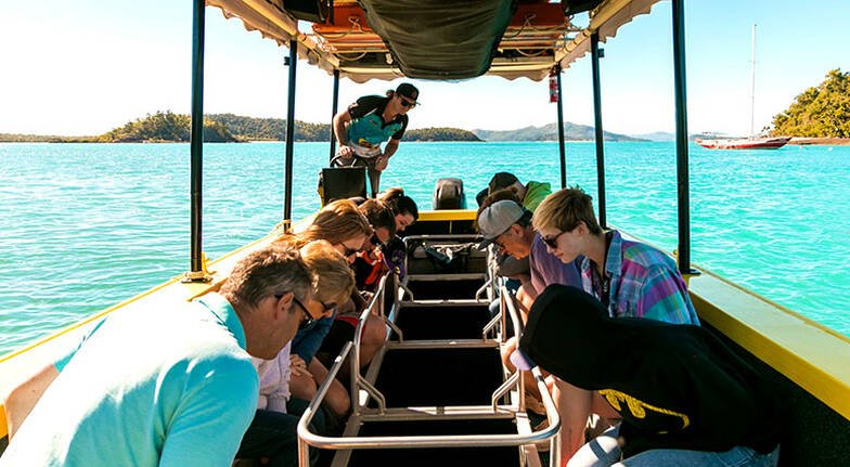 Airlie Beach Glass Bottom Boat Tour - 70 Minutes