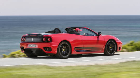 Ferrari Joy Ride in the Mornington Peninsula
