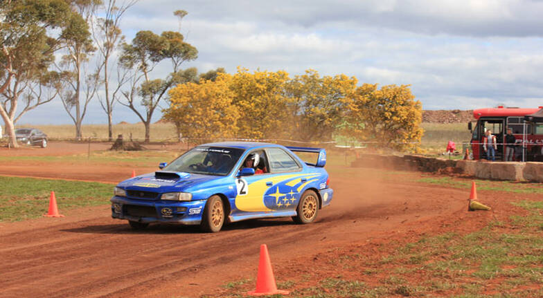 Rally and Drift Introduction Combo - 8 Laps - Melbourne