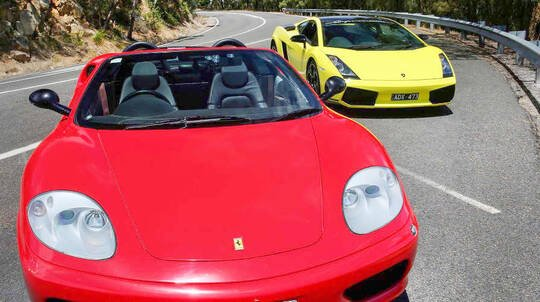 Drive a Ferrari Mornington Peninsula - 60 Minutes