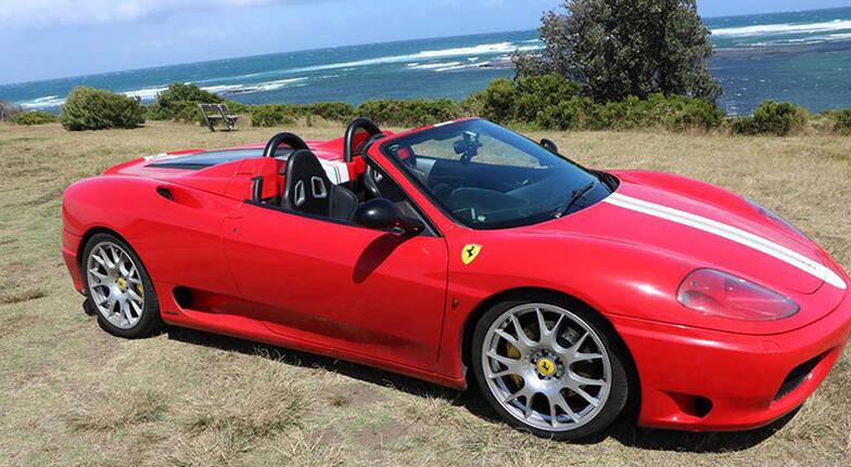 One Hour Drive in a Lamborghini and Ferrari with Rum Tour