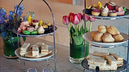 Decadent High Tea with Sparkling Wine