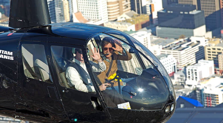 Private Helicopter Flight to Perth and Fremantle- 30 Minutes