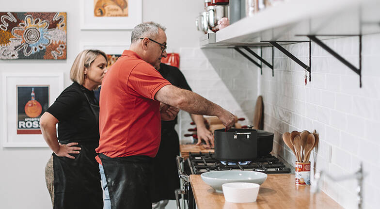 Italian Pasta Cooking Class with Meal  4 Hours  For 2