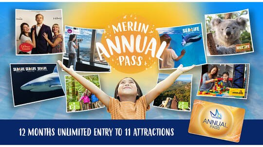 Merlin Attractions Annual Pass