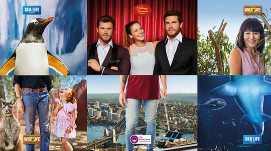 Sydney Attractions Multi Entry Combo Pass - 2 Attractions