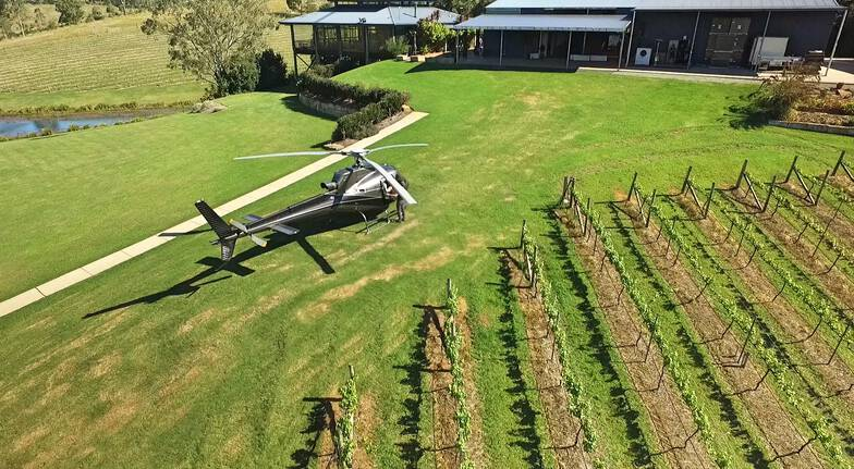 Luxury Helicopter Flight and Winery Tour